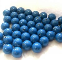 6mm SWAROVSKI® ELEMENTS Lapis Crystal Pearl Beads - 50 pearls for jewellery making, beadwork and craft
